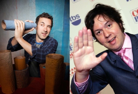 Mark Normand and Dave Hill