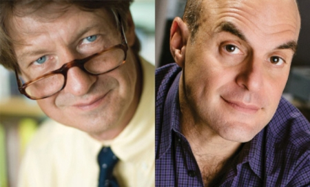 P. J. O'Rourke and Peter Sagal