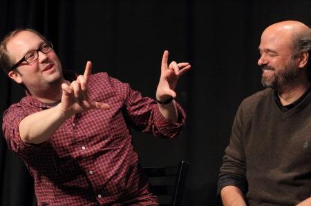 John Lutz & Scott Adsit