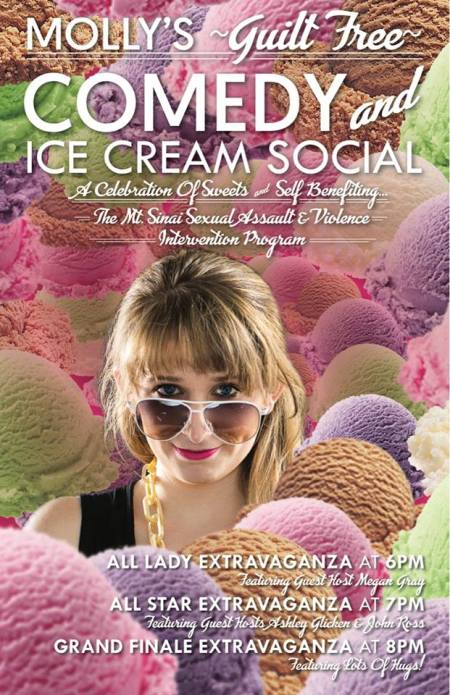 Molly's Guilt Free Comedy and Ice Cream Social