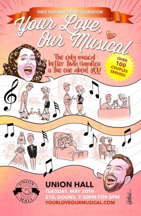 "Rebecca Vigil & Evan Kaufman: ""Your Love, Our Musical"""