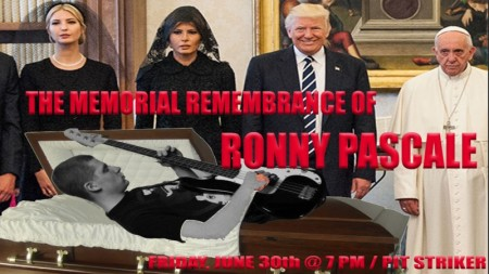 The Memorial Remembrance of Ronny Pascale