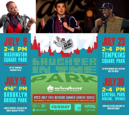 "Gina Yashere, Mark Normand, and Greer Barnes: ""Laughter in the Park"""