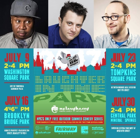 "Roy Wood Jr, Kevin Bartini, and Josh Gondelman: ""Laughter in the Park"""