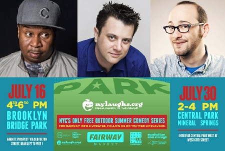 Roy Wood Jr, Kevin Bartini, and Josh Gondelman