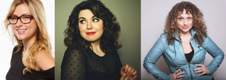 Annie Lederman, Jenny Zigrino, and Leah Bonnema