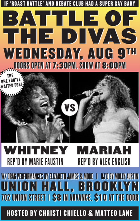 Battle of the Divas: Whitney Houston vs. Mariah Carey