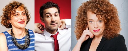 Jo Firestone, Mark Normand, and Michelle Wolf