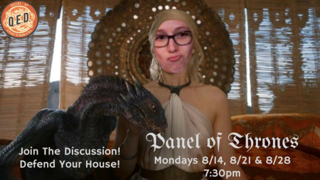"Nicki Wright: ""Panel of Thrones"""