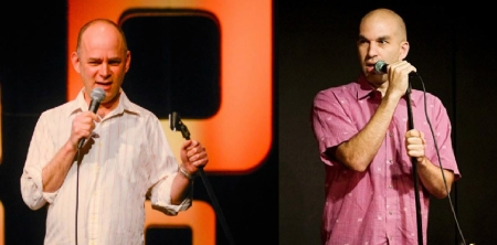 Todd Barry and Andy Blitz