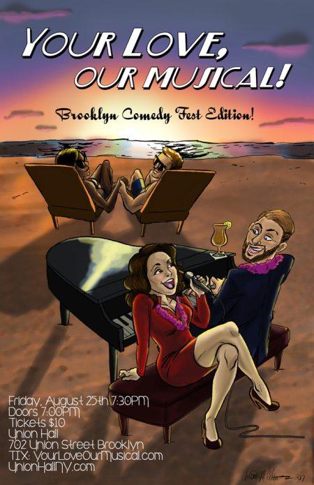 "Rebecca Vigil & Evan Kaufman: ""Your Love, Our Musical"""