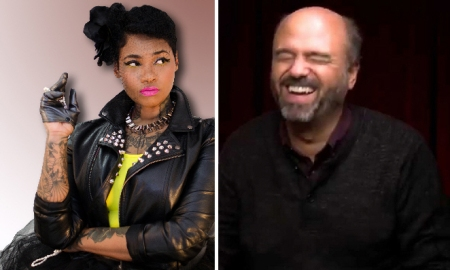 Jean Grae and Scott Adsit