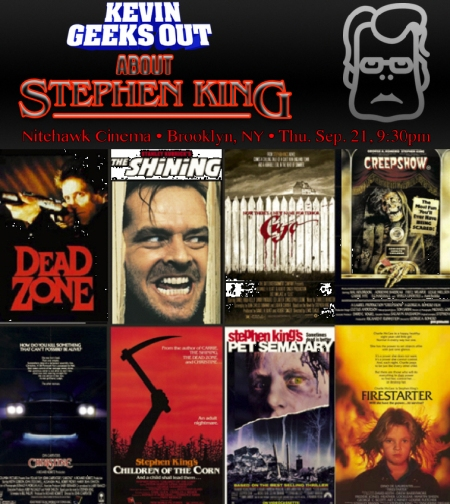 Kevin Geeks Out About Stephen King, Vol. 2