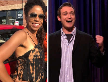 Marina Franklin and Dan Soder