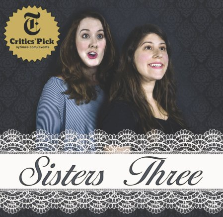 "Elana Fishbein & Elena Skopetos: ""Sisters Three"""