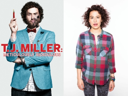 T.J. Miller and lana Glazer
