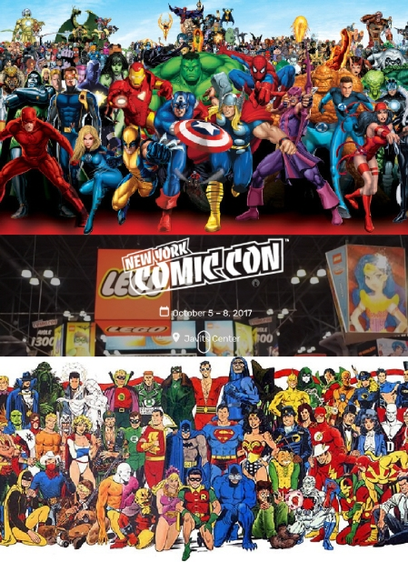 New York Comic Con 2017