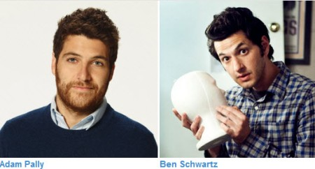 Adam Pally and Ben Schwartz