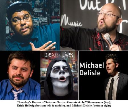 Gastor Almonte, Jeff Simmermon, Erick Hellwig, and Michael Delisle 5
