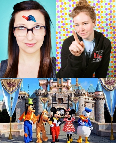 "Ashley Brooke Roberts & Natasha Vaynblat: ""Ashley & Natasha Do Disney"""