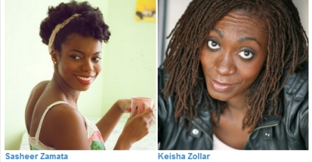 Sasheer Zamata and Keisha Zollar