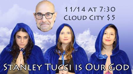 Stanley Tucci is Our God