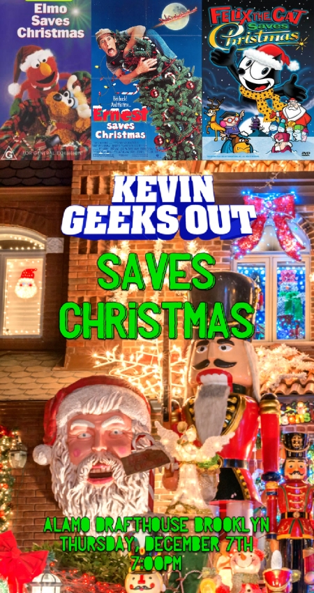 Kevin Geeks Out Saves Christmas