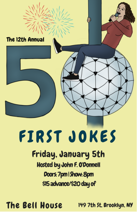 50 First Jokes, 2018 Edition