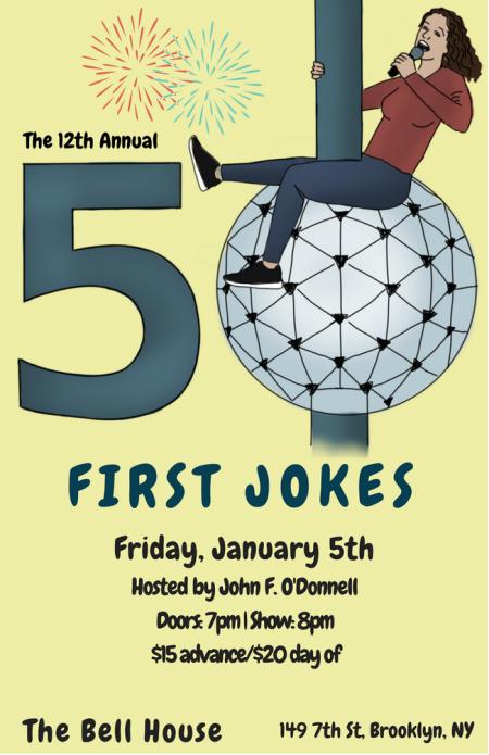 50 First Jokes, 2018 Edition