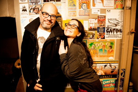 David Cross and Janeane Garofalo