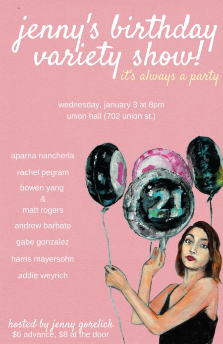 Jenny's Birthday Variety Show