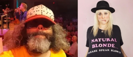 Judah Friedlander and Lane Moore