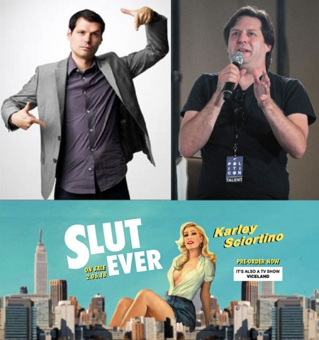Michael Ian Black, Anthony Atamanuik, and Karley Sciortino