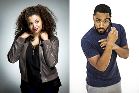 Michelle Buteau and Tone Bell
