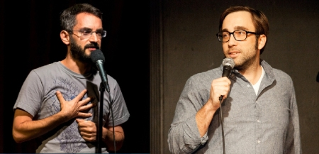 Myq Kaplan and Jim Tews