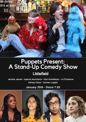 "Kelsey Caine & Carmen Lagala: ""Puppets Present"""