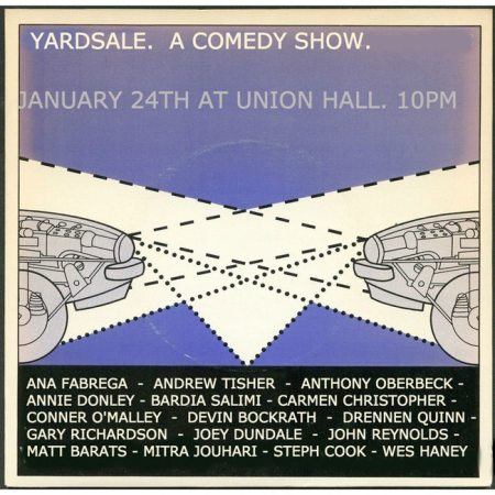 Yardsale Comedy Night