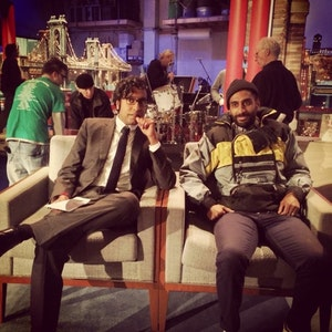 Hari Kondabolu and Ashok Kondabolu
