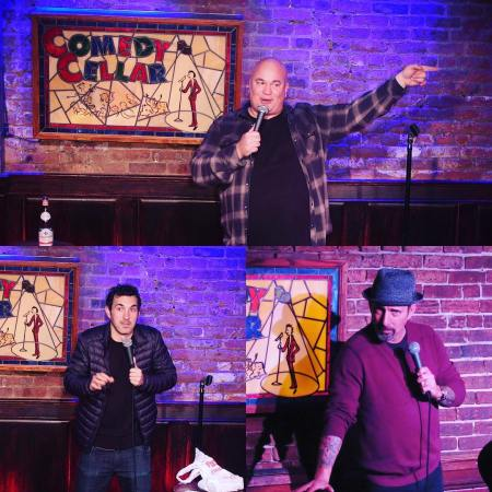 Robert Kelly, Mark Normand, and Rich Vos