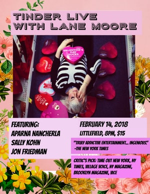 Lane Moore's Tinder Live: Valentine's Day Special