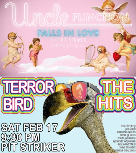 Uncle Function Falls in Love and Terrorbird: The Hits