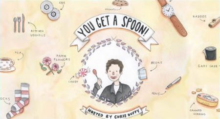 "Chris Duffy's ""You Get a Spoon"""