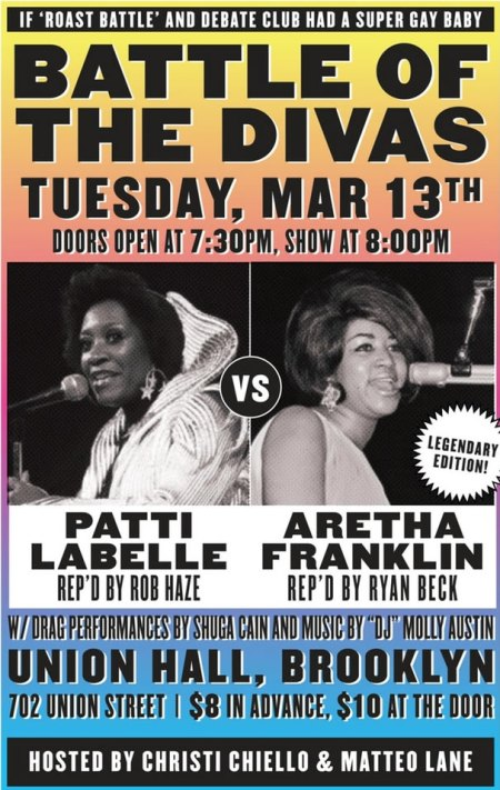 Battle of the Divas: Patti LaBelle vs. Aretha Franklin