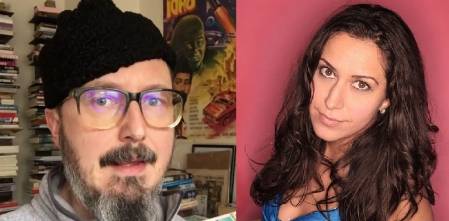 John Hodgman and Rachel Feinstein