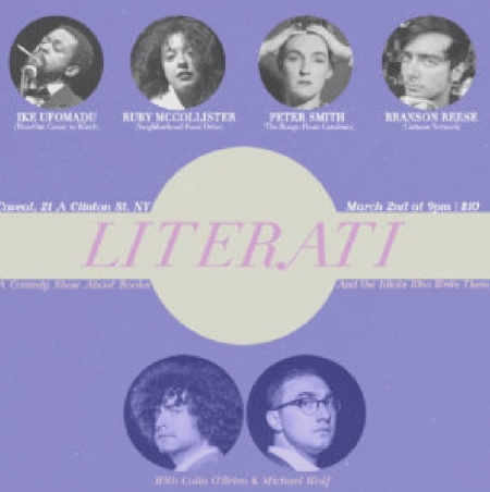 Literati: A Comedy Show About Books and the Idiots Who Write Them