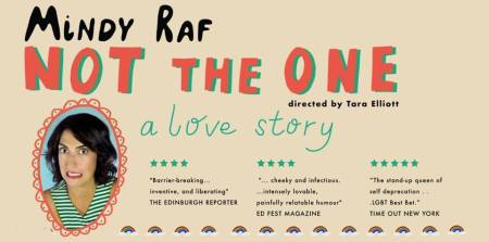 "Mindy Raf: ""Not the One: A Love Story"""