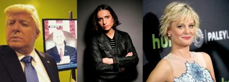 Anthony Atamanuik, Masha Gessen, and Martha Plimpton