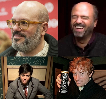 "David Cross, Scott Adsit, Becky Drysdale, and Brian Stack: ""Gravid Water"""