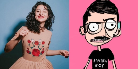"Mitra Jouhari and Branson Reese: ""Literati: A Comedy Show About Books and the Idiots Who Write Them"""