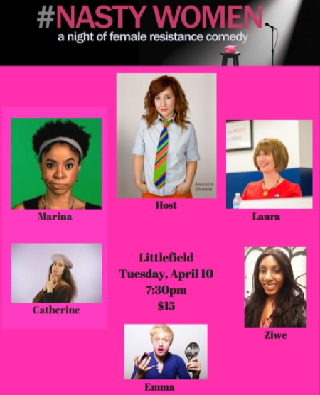 #Nasty Women—A Night of Female Resistance Comedy